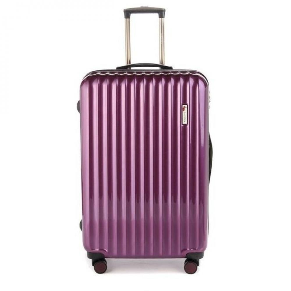 Валіза пластиковий Sumdex 4-х колісний (великий) фіолетовий