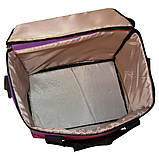 Термосумка Champion 20л (320х320х200мм). Цвет фиолетовый, фото 3