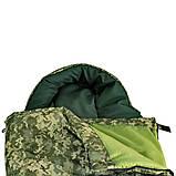 Спальный мешок Champion турист правый камуфляж, фото 2