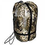 Спальный мешок Champion турист правый камуфляж, фото 3