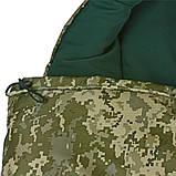 Спальный мешок Champion турист правый камуфляж, фото 4