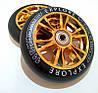 Колеса для трюковых самокатов Scooter Wheel 110 Silver, Gold, черные, фото 3