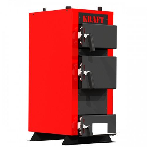 Котел на дровах Kraft серія E new, 24 з автоматичним управлінням