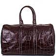 Дорожная сумка Desisan кожаная, 30 л, фото 2