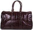 Дорожная сумка Desisan кожаная, 30 л, фото 3