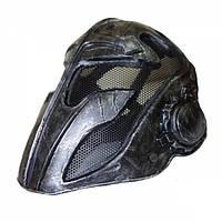 "Маска FMA Wire Mesh ""Templar"" Mask Black, фото 1"