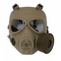Маска Toxic Style Fan Airsoft DE, фото 1