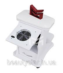 Подставка педикюрная с врезной вытяжкой для педикюра Air max тележка педикюрной ванночки подставка М217/1