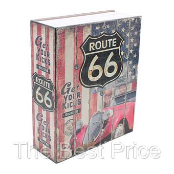 Книга сейф (24см) Траса 66