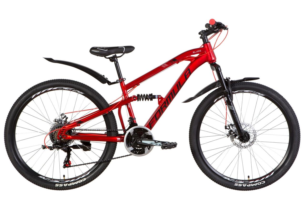 """Велосипед 26"""" Formula BLAZE 2021 (красный)  OPS-FR-26-456"""