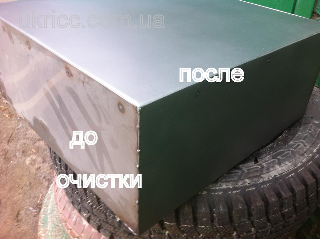 стеклоструйная очистка цветных металлов