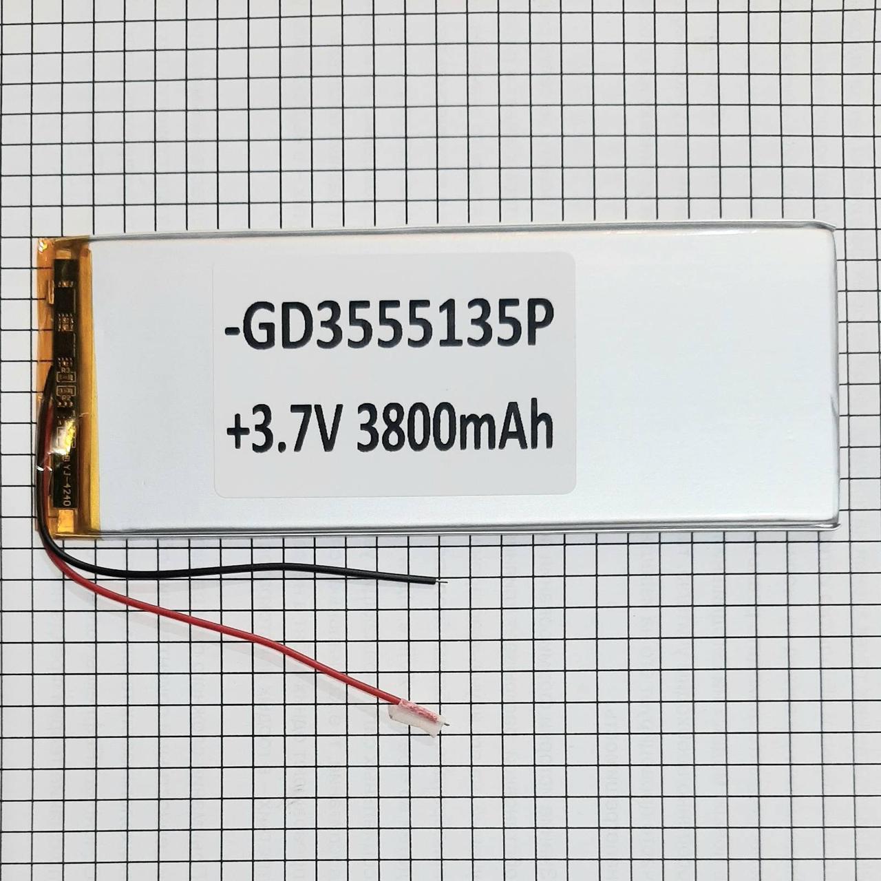 Аккумулятор для планшета 3555135 3800mah