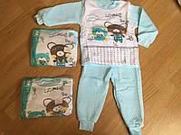 Пижамы детские, теплые пижамы до 2 лет МАЛЬЧИК, фото 1