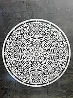 Многоразовый трафарет из пластика узор Мандала 2 трафарет под покраску и штукатурку для стен