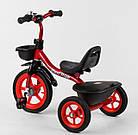 Детский трехколесный велосипед, резиновые колеса, звоночек, 2 корзины, накладки на руле, Best Trike BS-1788, фото 3