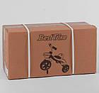 Дитячий триколісний велосипед, Eva колеса, дзвіночок, 2 кошика, металева рама, Best Trike LM-4405, фото 4
