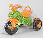 Дитячий триколісний велосипед, Eva колеса, клаксон на кермі, спинка з ручкою держателем, Pilsan 07-163, фото 4
