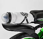 Детский велосипед, 16 дюймовые колеса, алюминиевые диски, бутылочка, магниевая рама, звонок, Corso 39373, фото 8