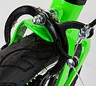 Детский велосипед, 16 дюймовые колеса, алюминиевые диски, бутылочка, магниевая рама, звонок, Corso 39373, фото 9
