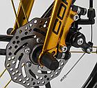 Детский велосипед, 16 дюймовые колеса, магниевые диски, ручной дисковый тормоз, доп. колеса, Corso LT-44200, фото 8