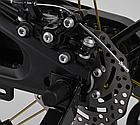 Детский велосипед, 16 дюймовые колеса, магниевые диски, ручной дисковый тормоз, доп. колеса, Corso LT-44200, фото 9