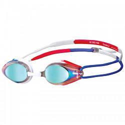 Детские очки для плавания Arena TRACKS JR MIRROR 1E560-174 Blue-Red hubbZmE46281 ES, КОД: 1795364