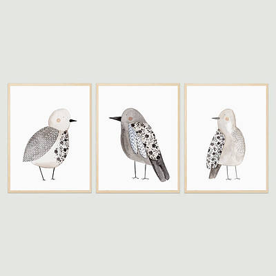 Набір постерів Птиці формат А3