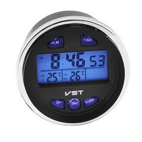 Авточасы VST-7042V, температура, вольтметр