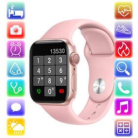 Смарт Часы Series 6 YY21, 44mm Aluminium, голосовой вызов, pink