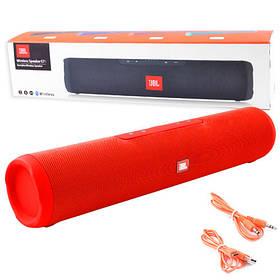 Bluetooth-колонка E7, c функцией speakerphone, радио, red