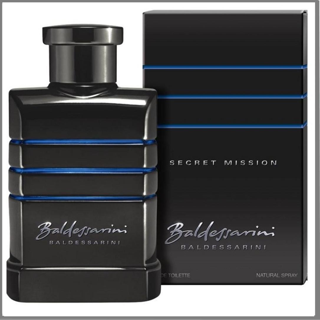 Baldessarini Secret Mission Hugo Boss туалетная вода 90 ml. (Мужские Балдессарини Секрет Миссион)