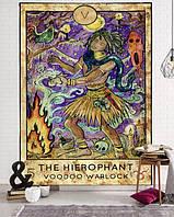 "Гобелен/скатертину Аркан Таро ""Іерофант"" | The Hierophant"