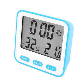 Термометр з гігрометром 854