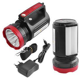 Ліхтар переносний Luxury 2895U-5W+20SMD, ЗУ 220V, вбудований акумулятор, power bank
