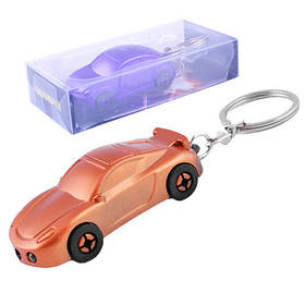 Фонарь брелок YT1802-2LED, car, лазер, 3xLR1130, Box