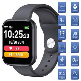 Smart Watch T85 Big touch screen, black