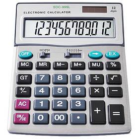Калькулятор 999, двойное питание