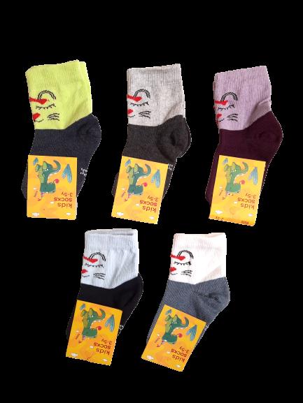 Носки детские на девочек хлопок стрейч Украина размер 12-14. От 6 пар по 7,50грн