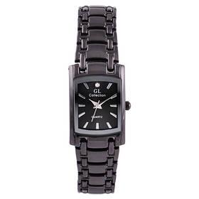 Часы наручные на браслете GL Collection 1067 L квадрат, черный