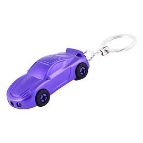 Фонарь брелок YT1801-2LED, car, лазер, 3xLR1130