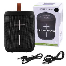 Bluetooth-колонка HOPESTAR-P14, StrongPower, c функцией speakerphone, радио, PowerBank, black