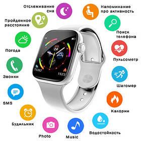 Smart Watch W4, HD full touch screen, IP67 white
