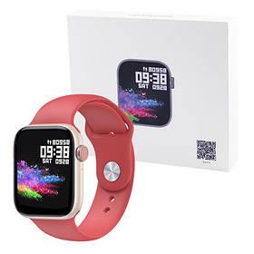 Smart Watch T89 Original, IP67, 42mm, red