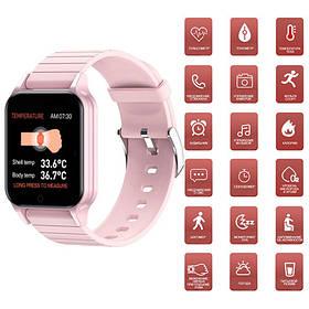 Smart Watch T96, температура тела, pink