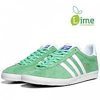 Кроссовки, Adidas Gazelle Green, фото 1