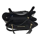 Женская замшевая mini сумка-шоппер Mісhаеl Коrs (в стиле Майкл Корс) с отстёгивающейся косметичкой, фото 9