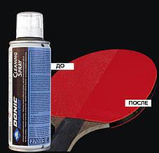 Спрей для чистки ракеток для пинг-понга Donic Ceaning spray 200 мл