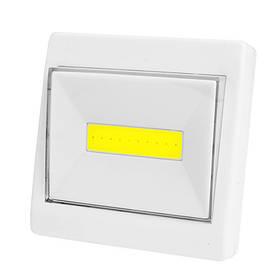 Подсветка универсальная в виде выключателя K10-COB, магнит, липучка, 3хAAA