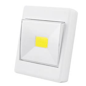 Подсветка универсальная в виде выключателя KL1701/305-COB, магнит, липучка, 3хAAA