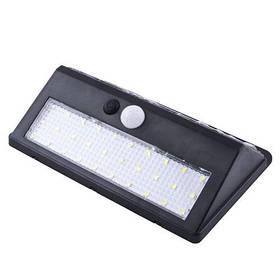 Настінний вуличний світильник XF-6012-30SMD, 1x18650, PIR+CDS, сонячна батарея